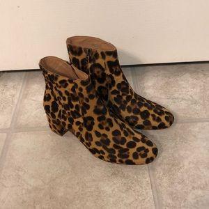 Truffle Multi Calf Hair Leopard Boot